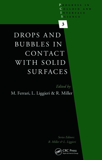 Drops and Bubbles in Contact with Solid Surfaces book cover