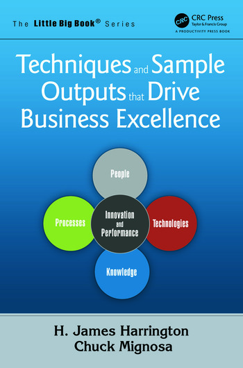 Techniques and Sample Outputs that Drive Business Excellence book cover
