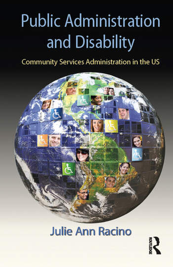 Public Administration and Disability Community Services Administration in the US book cover