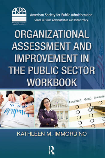 Organizational Assessment and Improvement in the Public Sector Workbook book cover