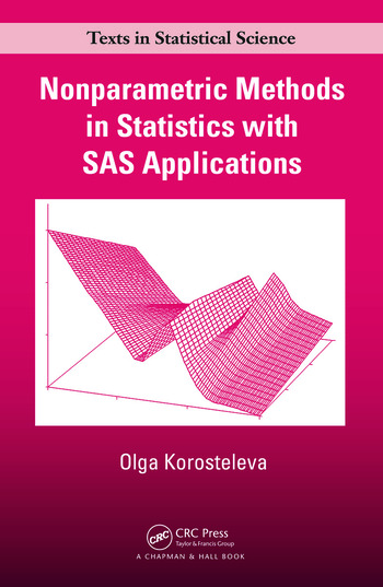 Nonparametric Methods in Statistics with SAS Applications book cover