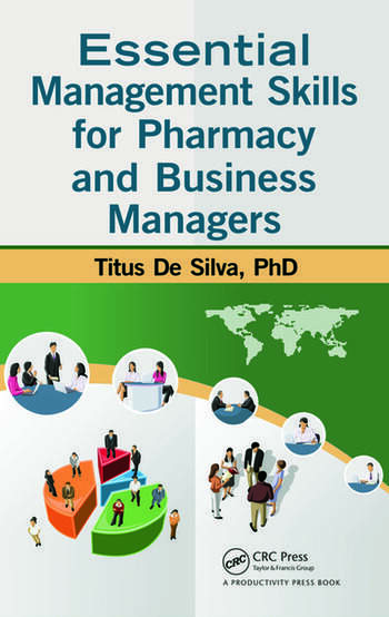 Essential Management Skills for Pharmacy and Business Managers book cover