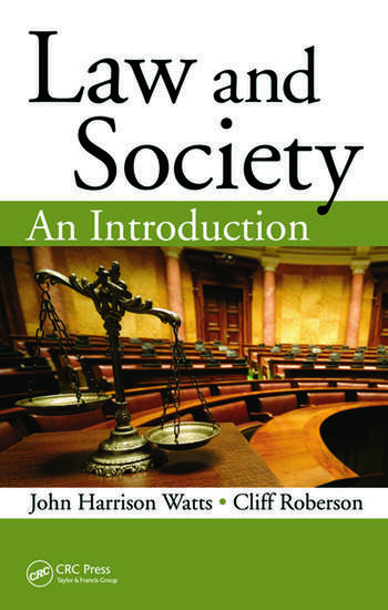 Law and Society An Introduction book cover