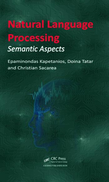 Natural Language Processing Semantic Aspects book cover