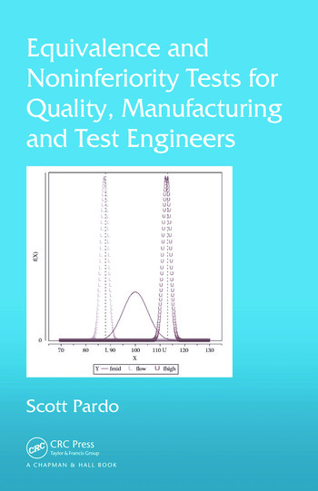 Equivalence and Noninferiority Tests for Quality, Manufacturing and Test Engineers book cover