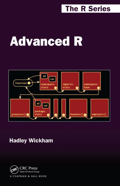 Advanced R book cover