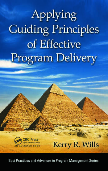 Applying Guiding Principles of Effective Program Delivery book cover
