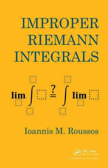 Improper Riemann Integrals book cover