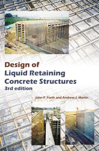 Design of Liquid Retaining Concrete Structures, Third Edition book cover