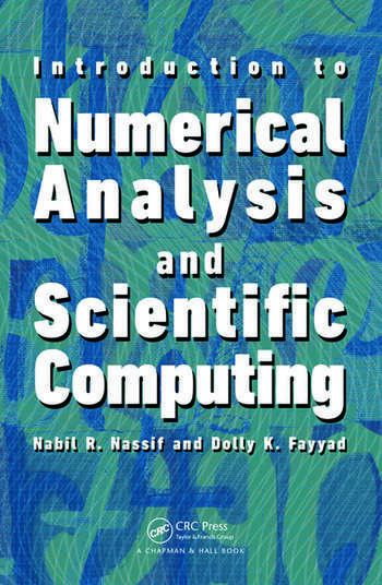 Introduction to Numerical Analysis and Scientific Computing book cover