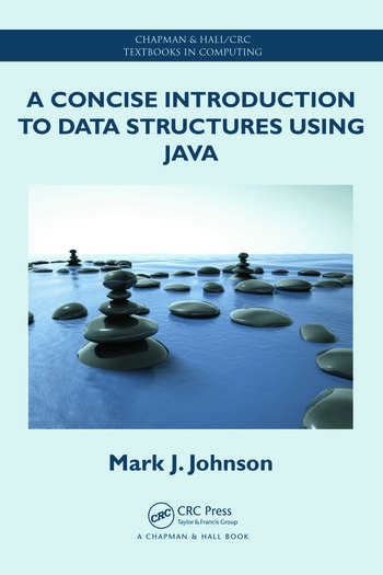 A Concise Introduction to Data Structures using Java book cover
