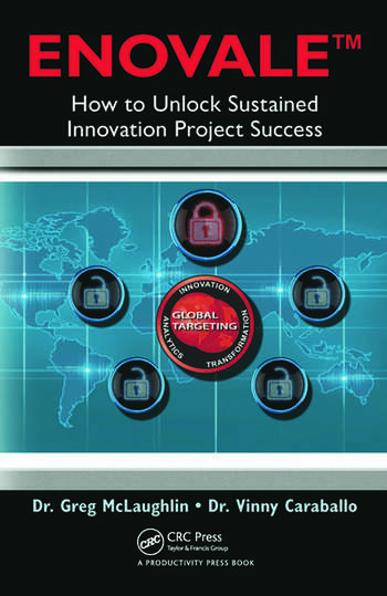 ENOVALE How to Unlock Sustained Innovation Project Success book cover