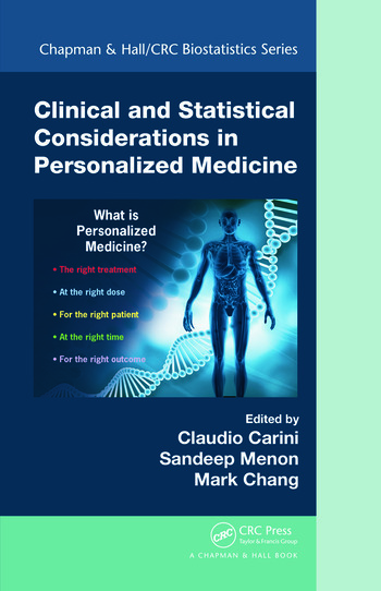 Clinical and Statistical Considerations in Personalized Medicine book cover