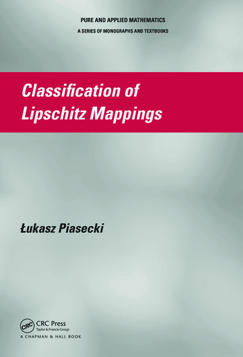 Classification of Lipschitz Mappings book cover