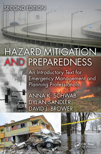 Hazard Mitigation and Preparedness An Introductory Text for Emergency Management and Planning Professionals, Second Edition book cover