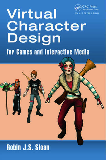 Game Character Design Book : Virtual character design for games and interactive media