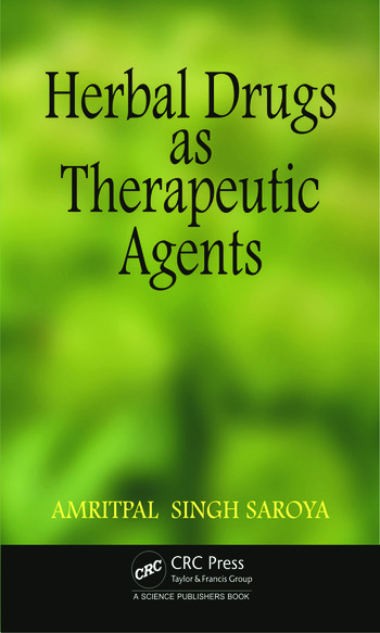 Herbal Drugs as Therapeutic Agents book cover