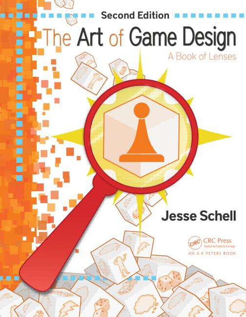 The Art of Game Design A Book of Lenses, Second Edition book cover