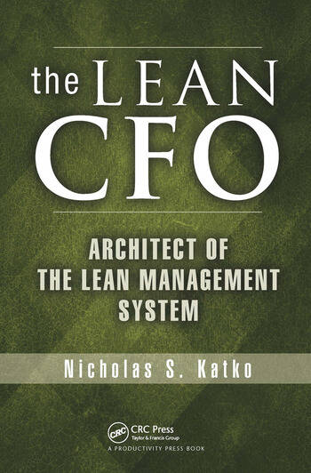 The Lean CFO Architect of the Lean Management System book cover