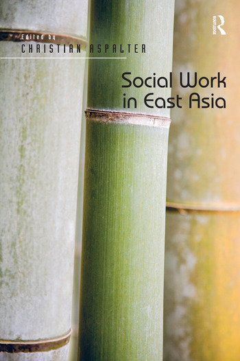 Social Work in East Asia book cover
