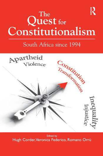 The Quest for Constitutionalism South Africa since 1994 book cover