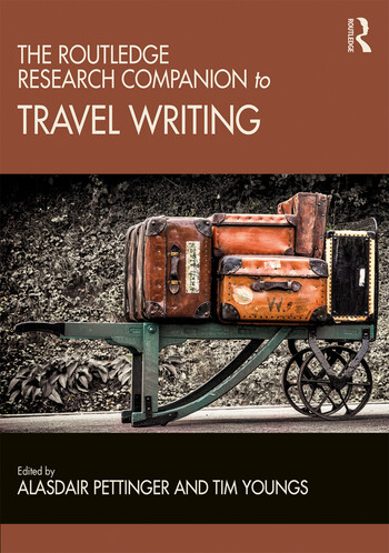 The Routledge Research Companion to Travel Writing book cover