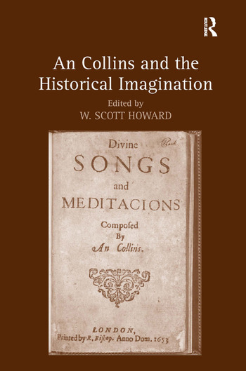 An Collins and the Historical Imagination book cover