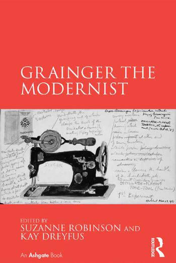 Grainger the Modernist book cover