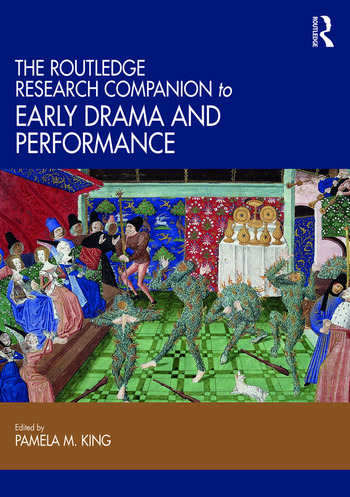 The Routledge Research Companion to Early Drama and Performance book cover