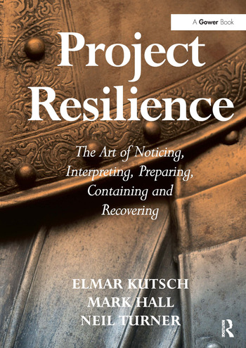 Project Resilience The Art of Noticing, Interpreting, Preparing, Containing and Recovering book cover