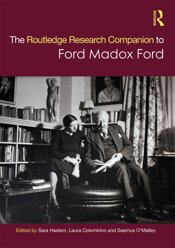 The Routledge Research Companion to Ford Madox Ford book cover