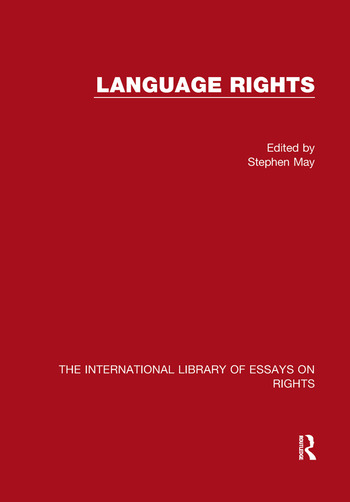 Language Rights book cover