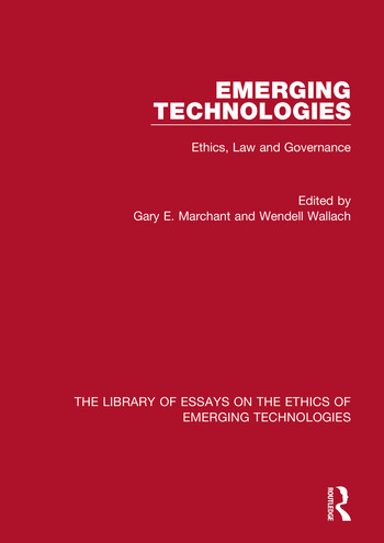 Emerging Technologies Ethics, Law and Governance book cover