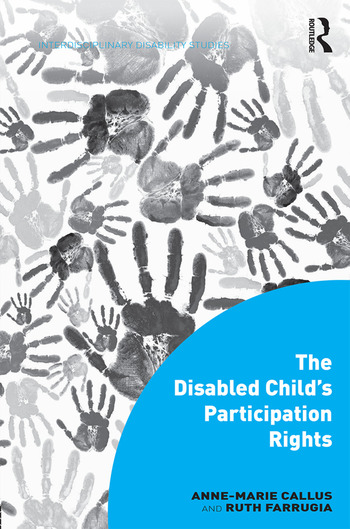 The Disabled Child's Participation Rights book cover