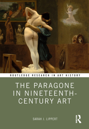 The Paragone in Nineteenth-Century Art book cover