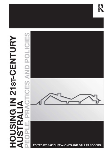 Housing in 21st-Century Australia People, Practices and Policies book cover