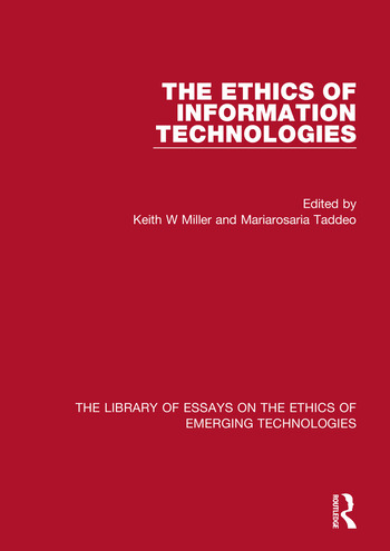 The Ethics of Information Technologies book cover