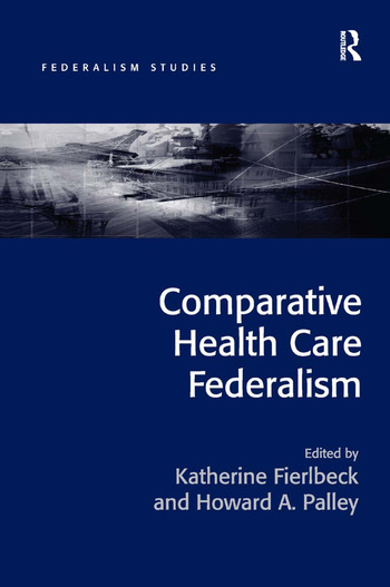 Comparative Health Care Federalism book cover