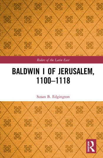 Baldwin I of Jerusalem, 1100-1118 book cover