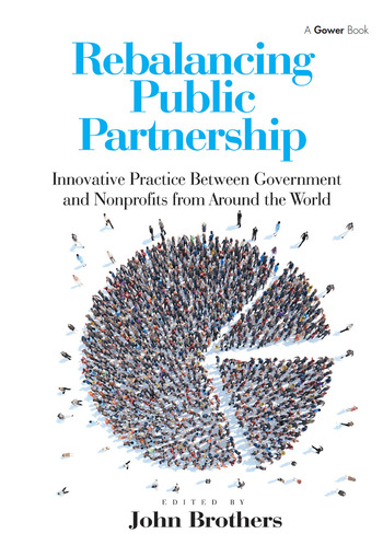 Rebalancing Public Partnership Innovative Practice Between Government and Nonprofits from Around the World book cover