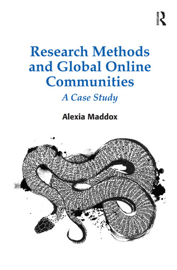 Research Methods and Global Online Communities A Case Study book cover