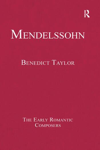 Mendelssohn book cover