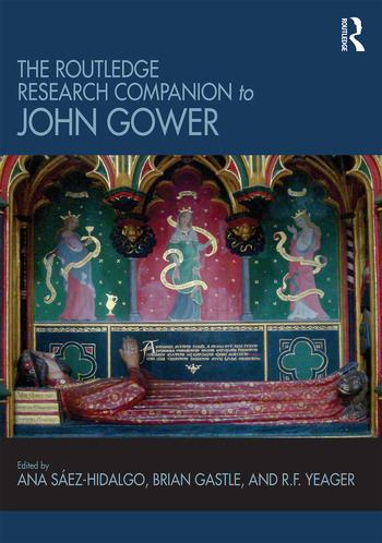 The Routledge Research Companion to John Gower book cover