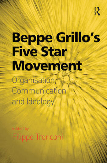 Beppe Grillo's Five Star Movement Organisation, Communication and Ideology book cover