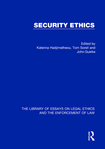 Security Ethics book cover