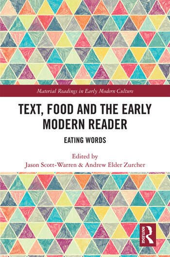 Text, Food and the Early Modern Reader Eating Words book cover