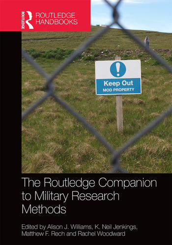 The Routledge Companion to Military Research Methods book cover