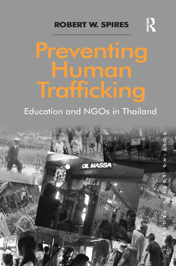 Preventing Human Trafficking Education and NGOs in Thailand book cover