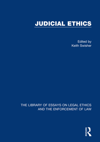 Judicial Ethics book cover