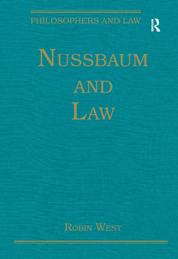 Nussbaum and Law book cover